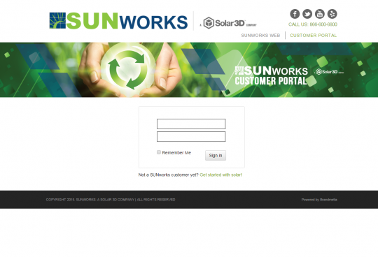 Sunworks Customer Portal
